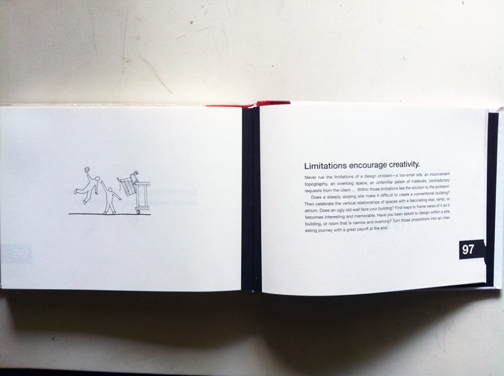 101 Things I Learned in Architecture School, by Matthew Frederick
