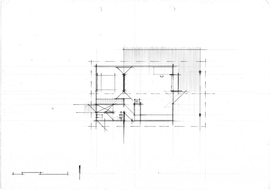 Break-through: after deciding to apply for the FHBB this layout incorporates all of the functions under the one roof