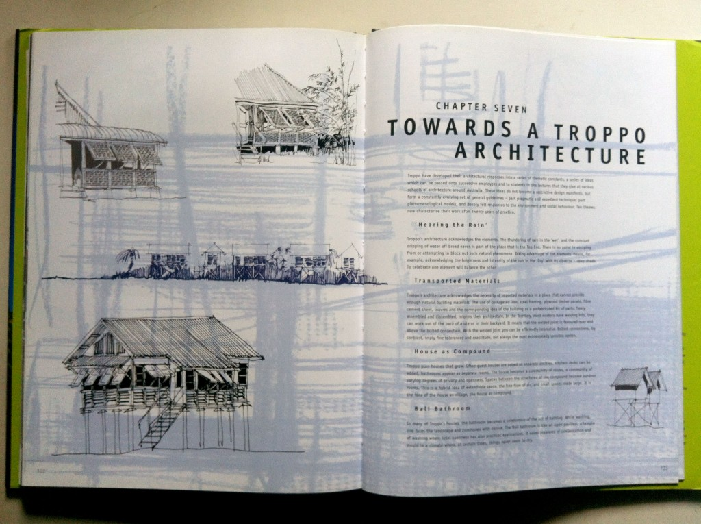 Troppo Architects, by Philip Goad