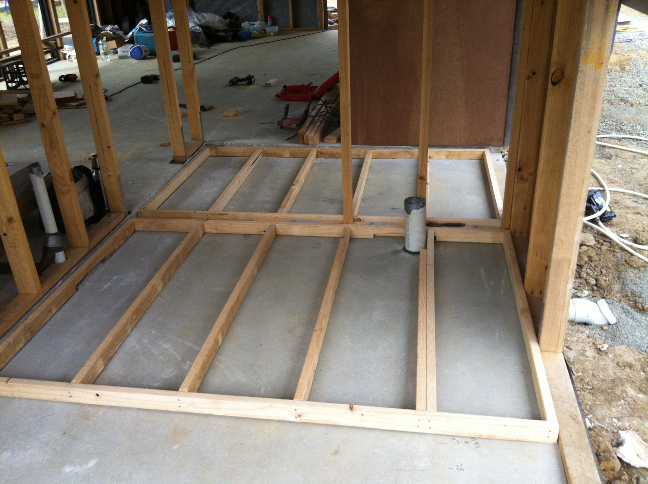 Timber Floor and Polishing the Slab – part 2 | 60k House
