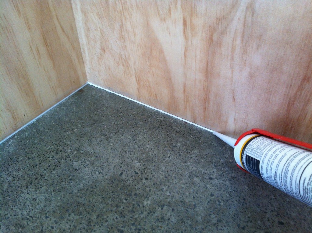 Gap it up: sealing the shadow line between the wall and the floor